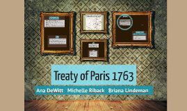 Copy of Treaty of Paris