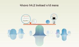 4havo h4.2 invloed v/d mens