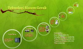 Teknologi Sistem Gerak