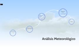 UCMC, II-3. Análisis Meteorológico