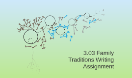 3.03 Family Traditions Writing Assignment