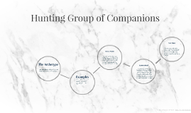 Copy of Hunting Group of Companions
