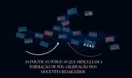 Políticas públicas do Brasil e os programas Stricto Sensu no