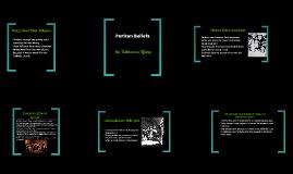 Copy of Puritan Beliefs