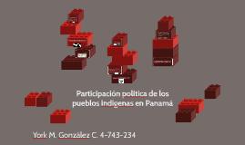Participación politica de los pueblos indigenas en Panamá