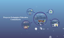 Copy of Copy of Proyecto Pedagógico Educativo Comunitario PPEC