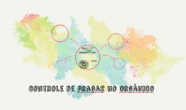 controle de pragas no orgânico