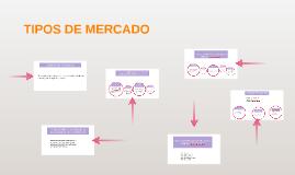Copy of TIPOS DE MERCADO