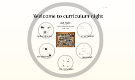 Copy of Curriculum Night Presentation