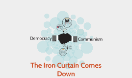 The Iron Curtain Comes Down
