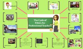 I. Code of Ethics for Professional Teachers