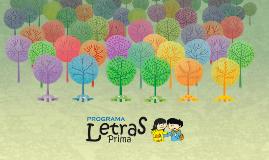 Árbol de Ortografía - Programa Letras Prima