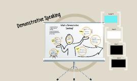 Demonstrative Speech
