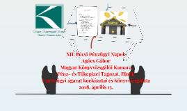 Pécsi Pénzügyi Napok 180413