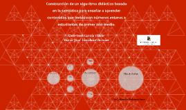 Construcción de un algoritmo didáctico basado en la semiótic
