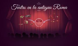 Teatro en la antigua Roma
