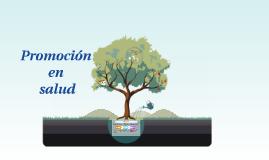 Copy of Promoción en salud