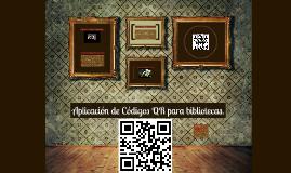 Copy of Aplicacion de Codigos QR para bibliotecas.