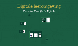 Digitale leeromgeving