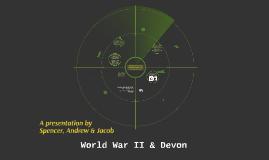 World War II & Devon