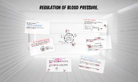 Regulation of Blood Pressure.