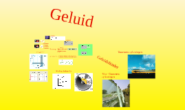 Copy of Geluid