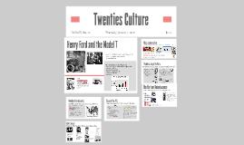 Copy of Twenties Culture