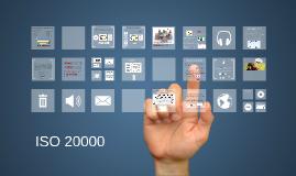 Gestión de TI  -ISO 20000 Parte 1