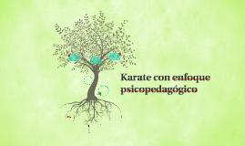 Karate con enfoque psicopedagógico