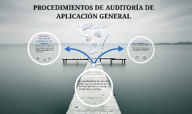 Copy of PROCEDIMIENTOS DE AUDITORIA DE APLICACIÓN GENERAL