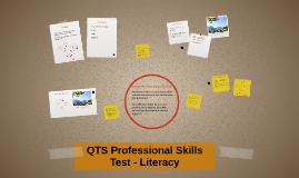 QTS Professional Skills Test - Literacy