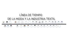 Línea de tiempo de la idustria textil