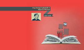 Unang Pagbabalik ni Rizal sa Pilipinas