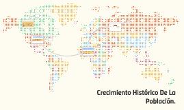 CRECIMIENTO HISTORICO DE LA POBLACI