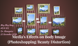 Media's Effects on Body Image (Photoshopping/Beauty Distorti