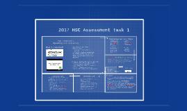 2017 HSC Assessment task 1