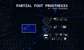 PARTIAL FOOT PROSTHESIS