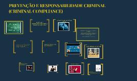 PREVENÇÃO E RESPONSABILIDADE CRIMINAL