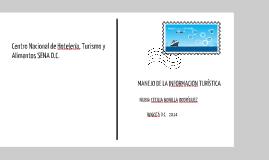 Copy of MANEJO DE LA INFORMACIÓN TURISTICA