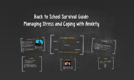 Back to School Survival Guide: