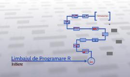 Limbajul de Programare R