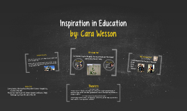 Inspiration in Education