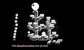 FAA Reauthorization Act of 2018