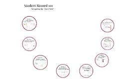 Student Record 101