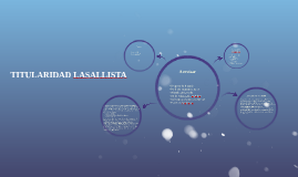 TITULARIDAD LASALLISTA