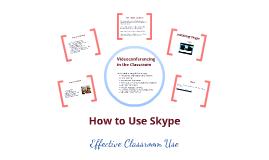 Using Skype