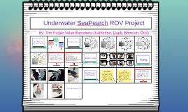 Underwater Seapearch ROV