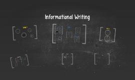 ELA -Informational Writing