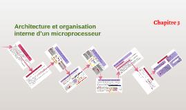 Architecture et organisation interne d'un microprocesseur