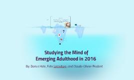 Emerging Adulthood Study